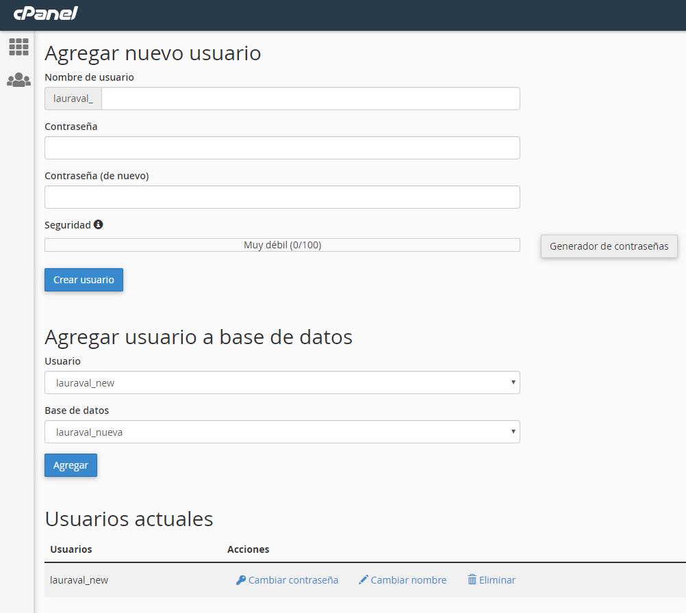 usuarios-base-de-datos-cpanel