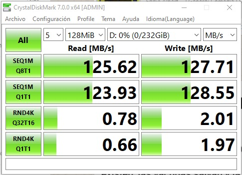 Velocidad disco duro HDD