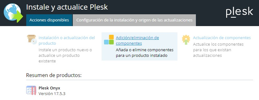 componentes-plesk