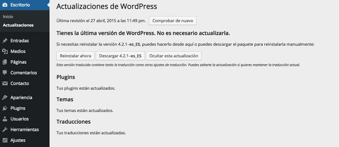 actualizaciones-wordpress
