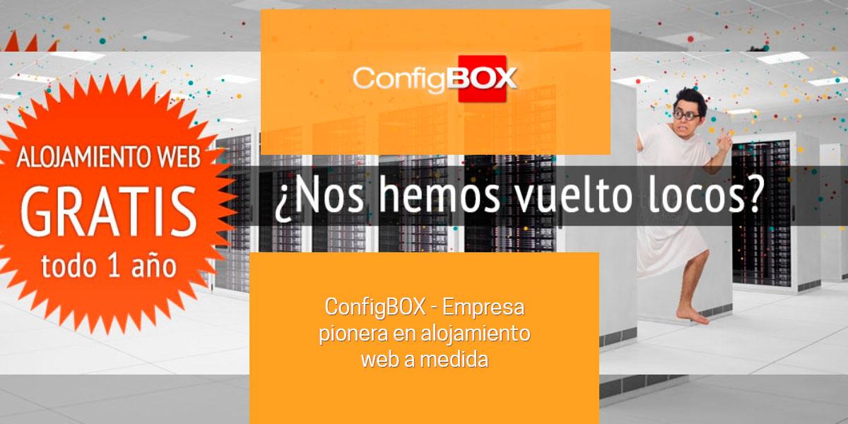 ConfigBOX - Empresa pionera en alojamiento web a medida