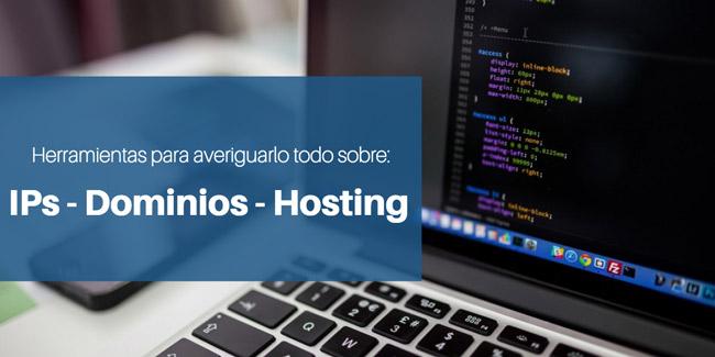 Herramientas para webmaster - Administradores de sistemas, dominios