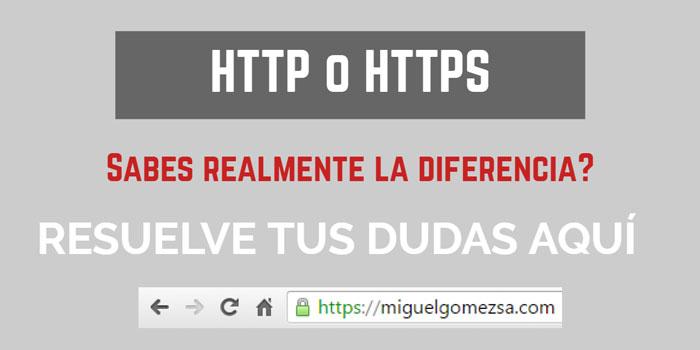 HTTP vs HTTPS. Mejora el SEO y la seguridad de tu web con HTTPS