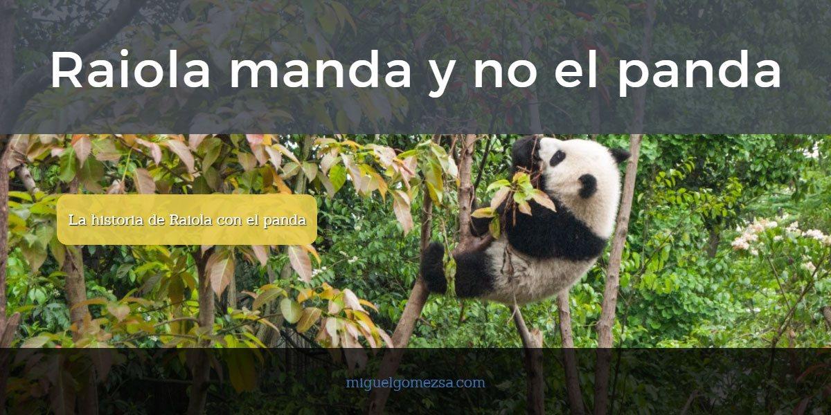 Raiola manda y no el panda - Madrid - Historia Raiola y no el Panda